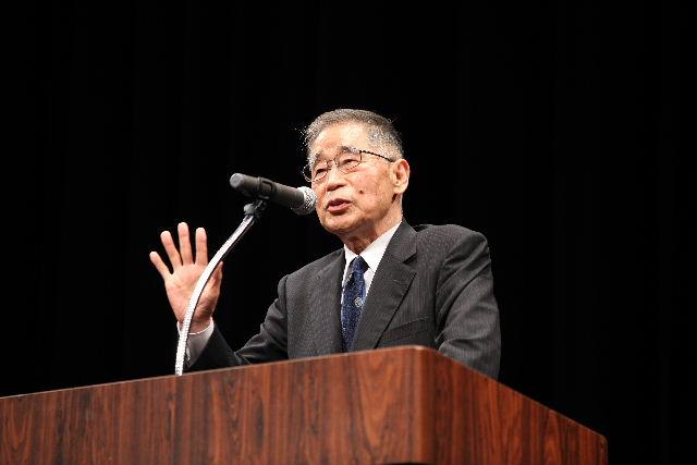 10周年記念講演会 鍵山秀三郎先生